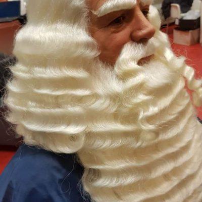 Sinterklaas bij de kapper